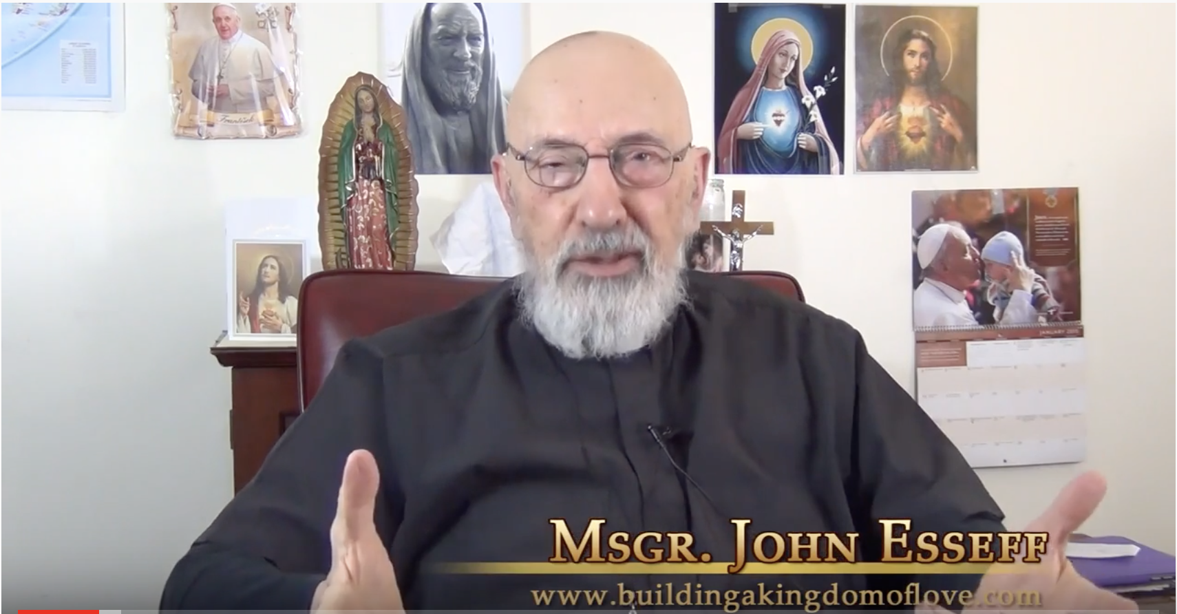 """Featured image for """"Msgr. John Esseff:  14 Videos About the Sacred Heart Enthronement"""""""